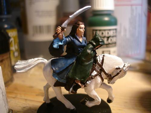 Arwen e Frodo lotr miniatures