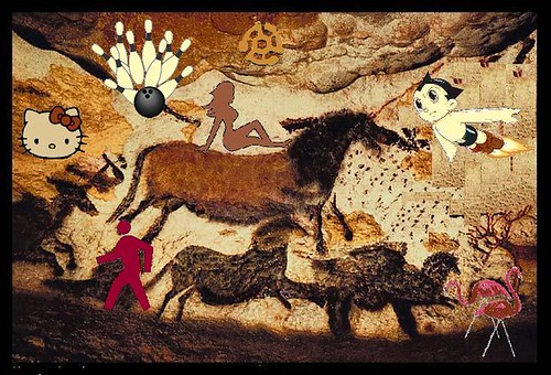 Creationists Finds Cave Painting of Dinosaur