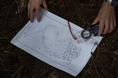 Our Building Site and Compass