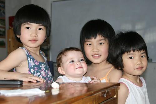Gary's girls with Arlo