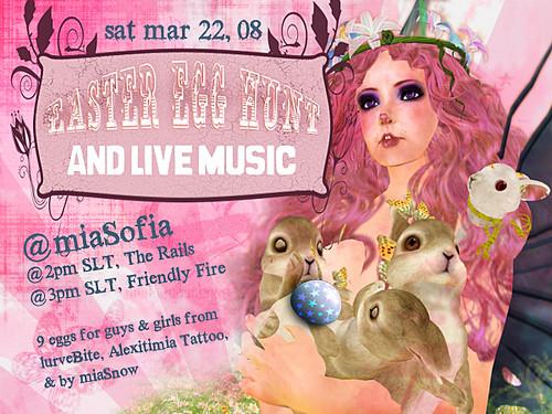 miaSofia Event Poster