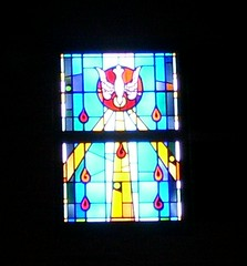 SMALLER STAINED GLASS WINDOW
