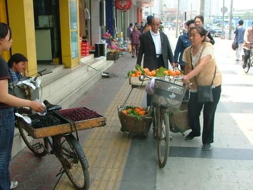 Fruit Bike Sellers