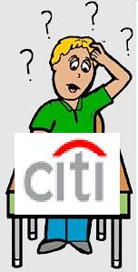 CitiBank in some confusion