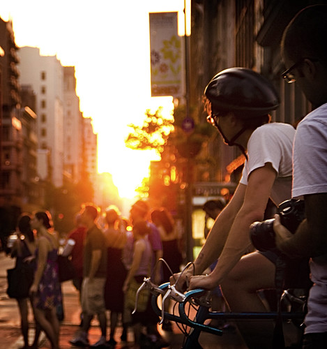 Manhattanhenge 2011 | The Commuter