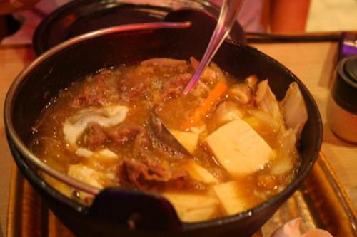 Sukiyaki at John and Yoko