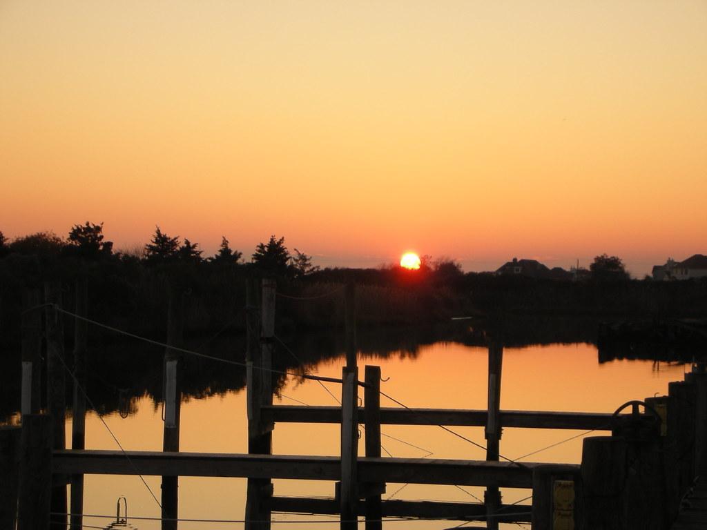 Perfect Stillness, My Home Boat Slip, Ablaze In Stunning Red & Pastel Sunset Shades - IMRAN™