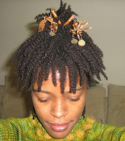 Hair Sticks Updo Front