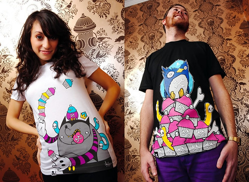 Peekaboo x Johnny Cupcakes T-Shirts