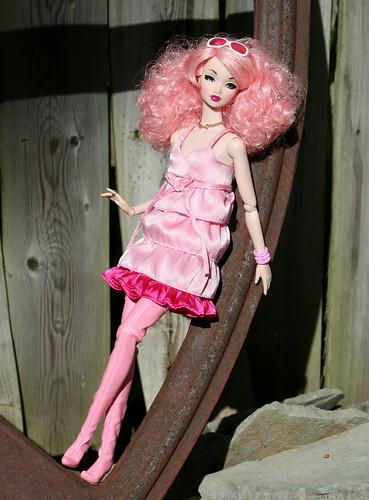 Pinkie Pink Amelie