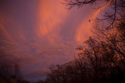 dusk, southern sky