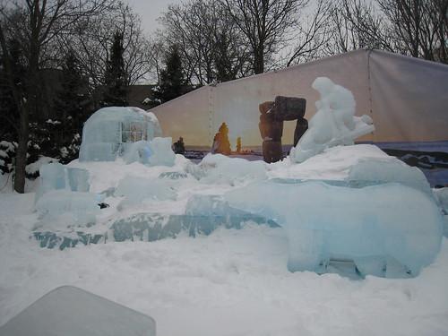 Inuit scenery