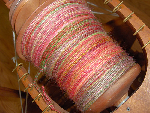 India Spice singles on my Jensen bobbin