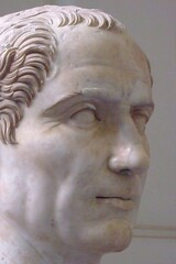 Head of Gaius Julius Caesar from Trajan's Foru...