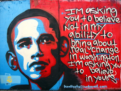Barack Obama - Santa Fe Art District