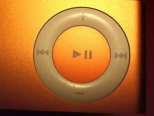 iPod Suffle parte delantera