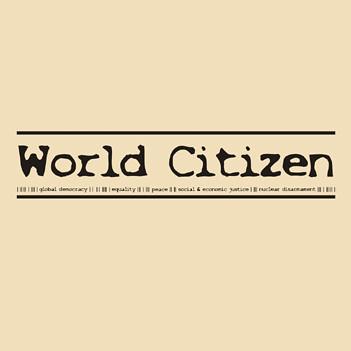 World Citizen - t-shirt design By brand resistant