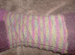 Carnivale du Printemps Socks - Leg detail