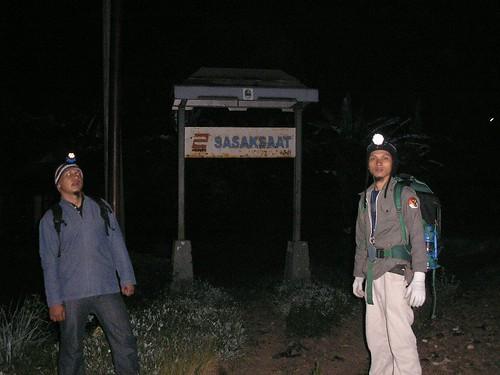Terowongan stasiun Sasaksaat