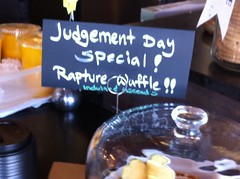Judgement day special: a waffle with everything by pahlkadot
