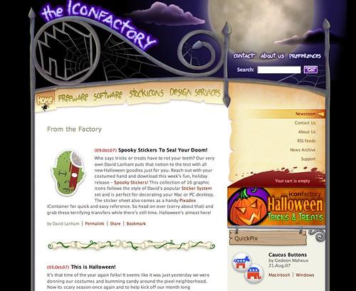 Iconfactory Halloween