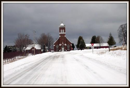 St. Wenceslaus Catholic Church by Bean in Sylvan Lake