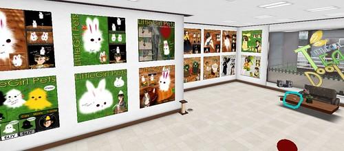 Little Girl Shop! Inside store
