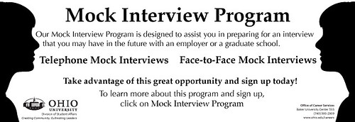 OU Career Services Mock Interview