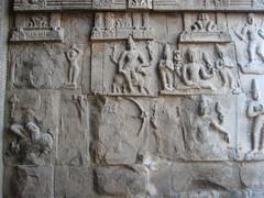 Vandalised Sculptures of the Rajagopuram