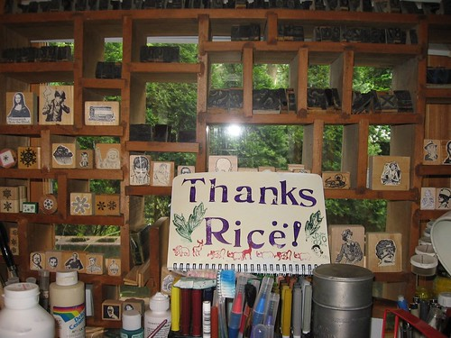 thanks ricë!