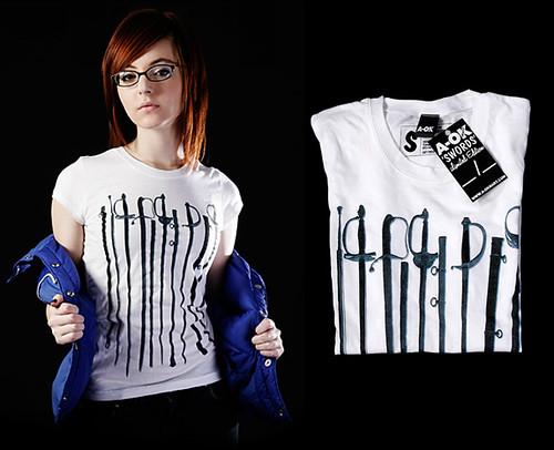 Swords T-Shirt A-OK Mart