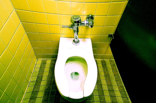 let's get together in a bathroom stall