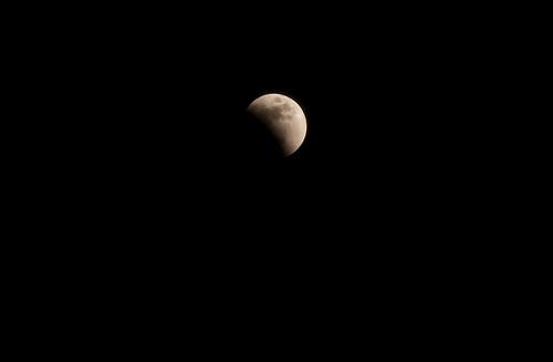 Lunar Eclipse - partial