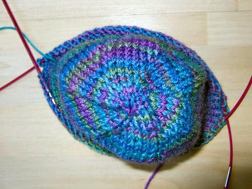 Spiraling Coriolis