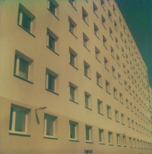 Artistic East-German Building