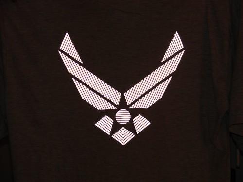 Reflective Air Force Emblem