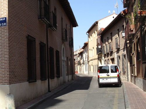 Calle cardenal tenorio desde siete esquinas actualmente