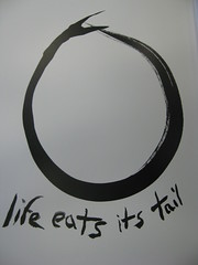 life eats its tail by pheezy, on Flickr