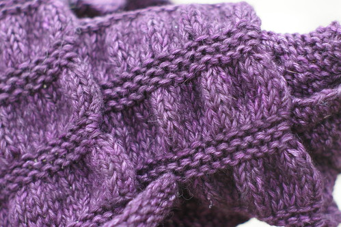 runchy scarf close up