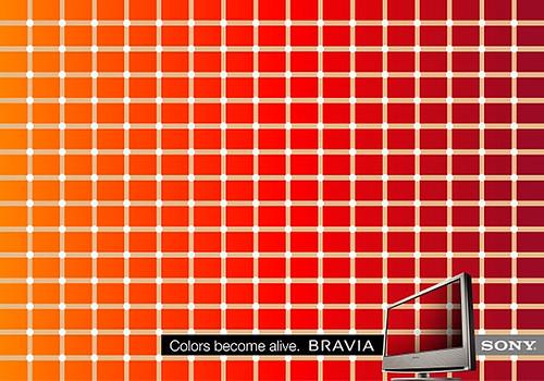 Sony Bravia Color 03 Optical Illusion