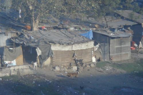 往Jodhpur火車外風景1-31貧民窟