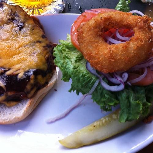 BBQ Burger @ Kalypso Island Bar & Grill