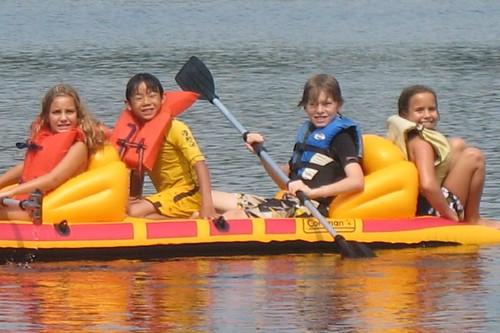 4 in boat