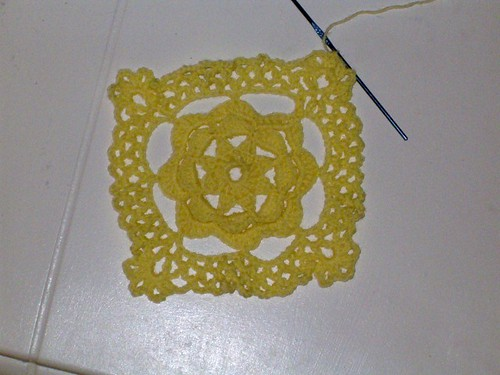 Lacy Baby Blanket 1