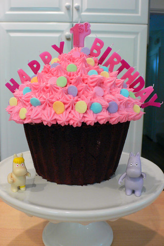 First Birthday Cake by hfb.