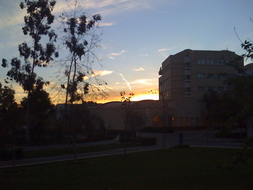 UC Irvine in the morning