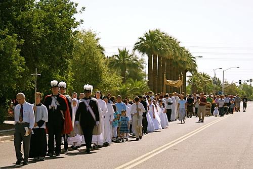 Corpus Christi Procession on Roosevelt II