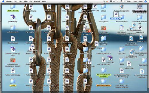 mostlymessy desktop