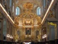 Inside the Basilica Cathedral Notre-Dame de Québec