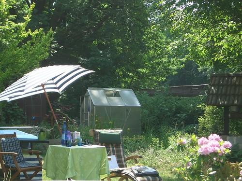 Mein Gartenarbeitsplatz